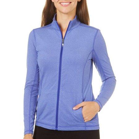 IZOD Golf Womens Zipper Front Jacket