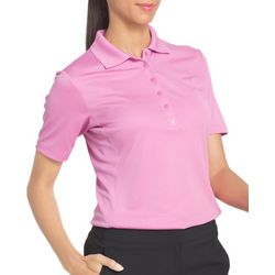 IZOD Golf Short Sleeve Tulip Hem Polo Shirt