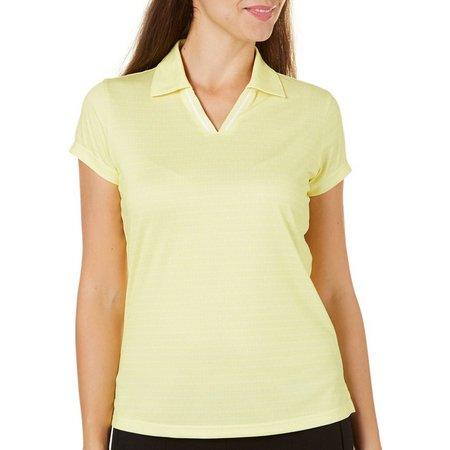 Tournament Collection Womens Split Neck Polo Shirt