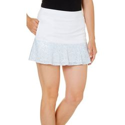 PGA TOUR Burnout Printed Hem Skort