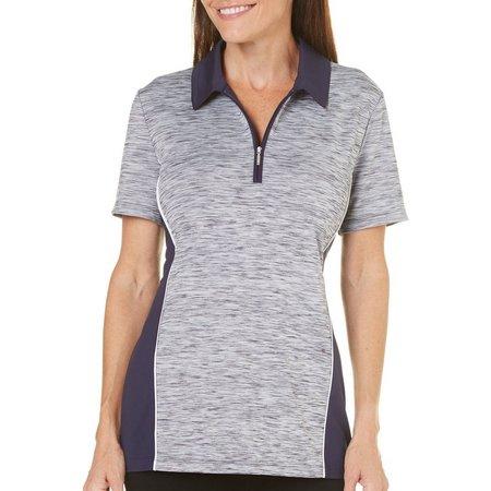 Coral Bay Golf Womens Space Dye Polo Shirt