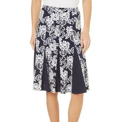 New! Sami & Jo Womens A-Line Floral Lace