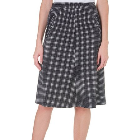 Counterparts Womens Checkered A-Line Skirt | Bealls Florida