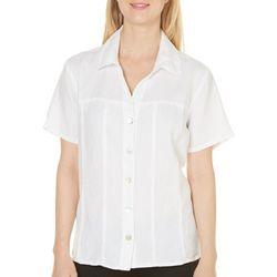 Hot Cotton Womens Textured Shirt
