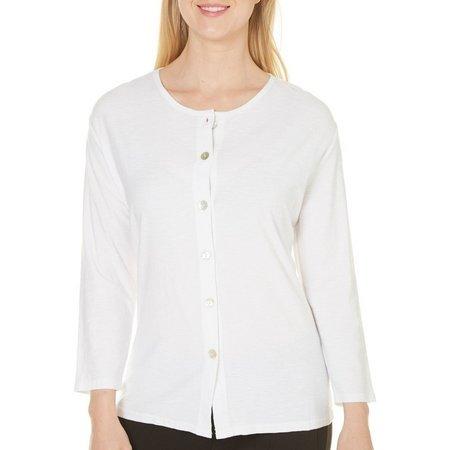 Hot Cotton Womens Textured Top