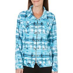 SPORTELLE Womens For The Country Girl Plaid Jacket