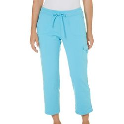 SPORTELLE Womens Solid Ankle Pants
