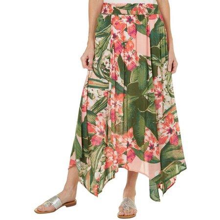 Margaritaville Womens Manoa Floral Skirt