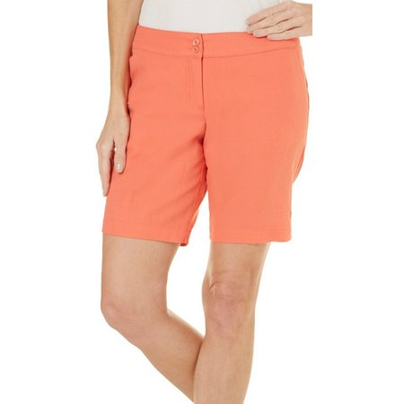 Margaritaville Womens Twill Bermuda Shorts