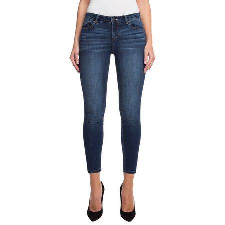 Jordache Womens Emily Midrise Skinny Ankle Jeans