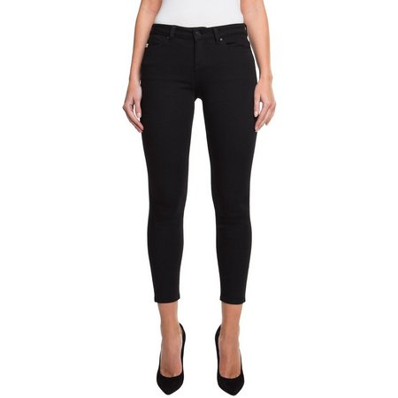 Jordache Womens Emily Mid Rise Skinny Ankle Jeans