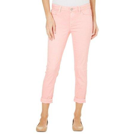 Kensie Jeans Womens Colored Denim Capris