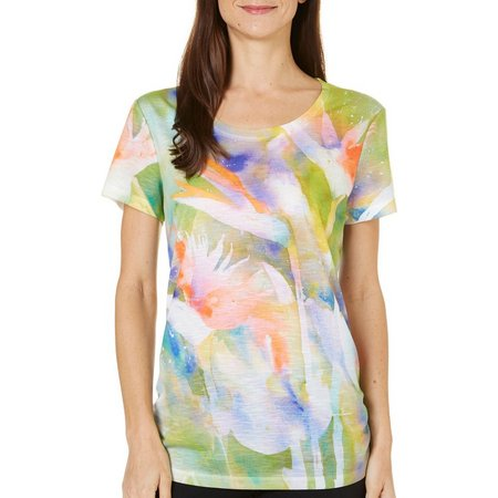 New! Dawn Davis Womens Bird Of Paradise T-Shirt
