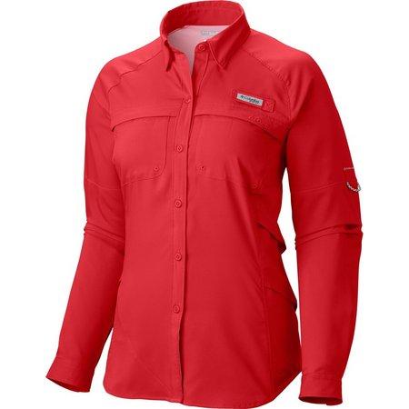 Columbia Womens PFG Airgal Long Sleeve Shirt