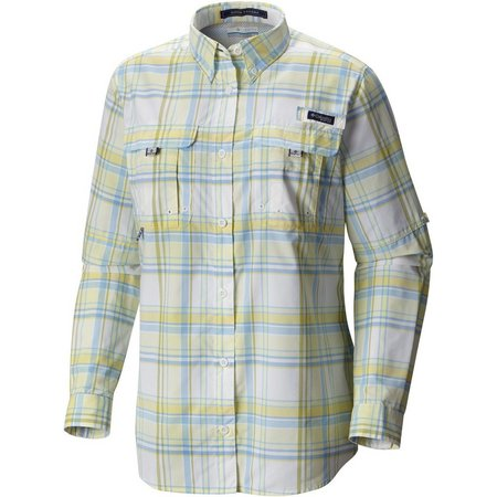 Columbia Womens Super Bahama Long Sleeve Shirt