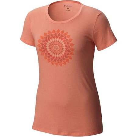 Columbia Womens Prism Medallion Print Top