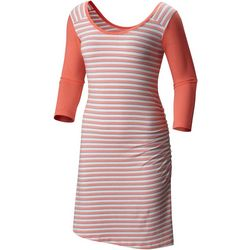 Columbia Womens Reel Beauty II Striped Dress