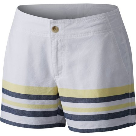 Columbia Womens Solar Fade Stripe Shorts