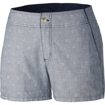 New! Columbia Womens Solar Fade Stripe Shorts