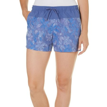 Columbia Womens Sandy River Bluebell Floral Shorts