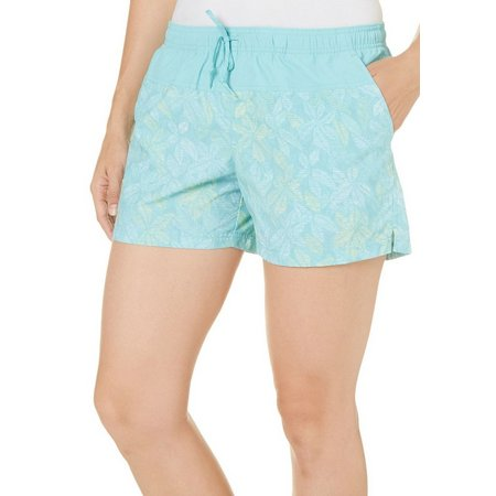 Columbia Womens Sandy River Iceburg Floral Shorts