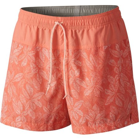 Columbia Womens Sandy River Lychee Floral Shorts