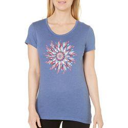 Columbia Womens Daisy Day Medallion T-Shirt