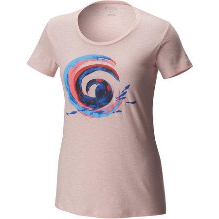 Columbia Womens Tidal Ways Lemonade T-Shirt