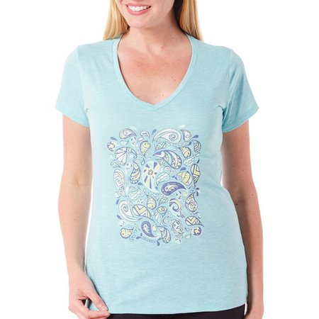 Columbia Womens Puzzle Splash T-Shirt