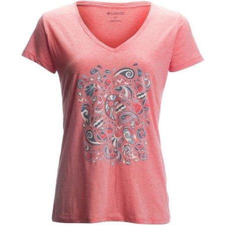 Columbia Womens Tribal Splash T-Shirt