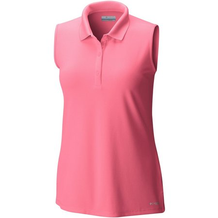 Columbia Womens Innisfree Sleeveless Polo Shirt