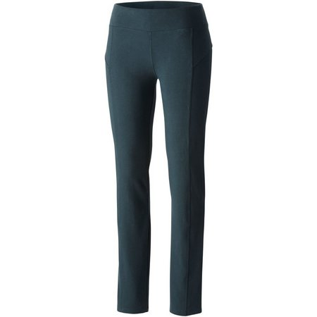 Columbia Womens Anytime Casual Straight Leg Pants