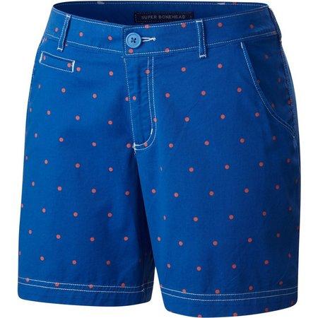 Columbia Womens PFG Super Bonehead II Dot Shorts