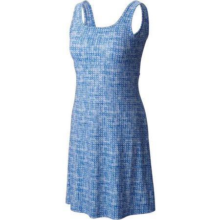 Columbia Womens Freezer Dot Print Dress