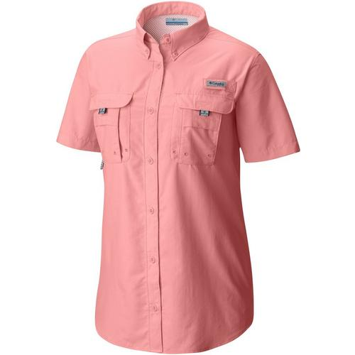 Columbia Womens Pfg Bahama Short Sleeve Shirt Bealls Florida