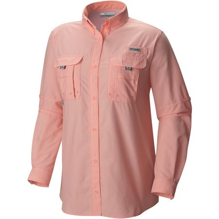 Columbia womens pfg bahama long sleeve shirt bealls florida for Columbia shirts womens pfg