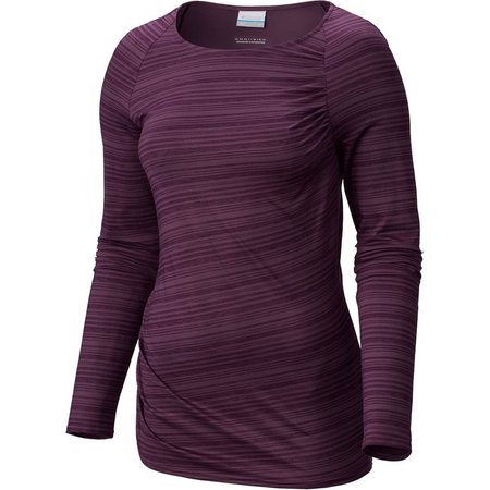 Columbia Womens Anytime Casual Long Sleeve Top