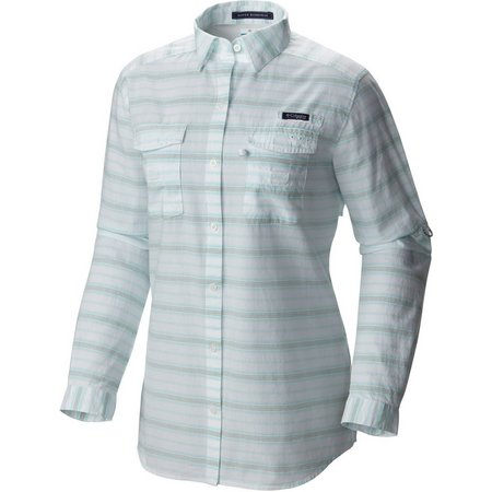Columbia Womens Super Bonehead Stripe Shirt