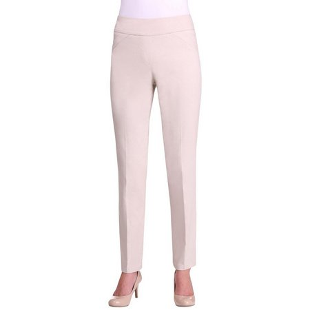 Alia Womens Tech Stretch Pull On Pants