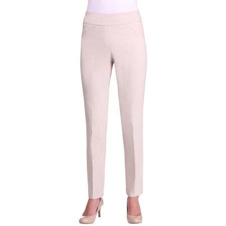 Alia Womens Tech Stretch Pull On Pants