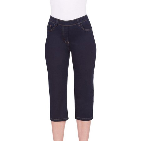 Alia Womens Super Stretch 5 Pocket Capris