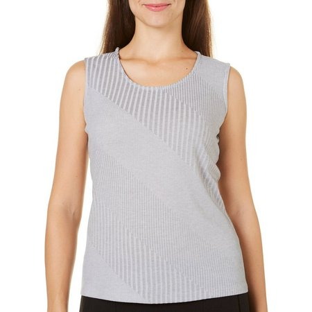 Alia Womens Rib Knit Tank Top