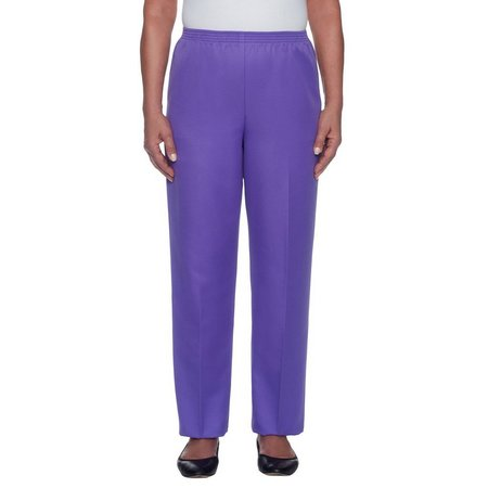 Alfred Dunner Womens P/O Pant Average