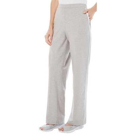 New! Alfred Dunner Womens Long Weekend Pull-On Pants