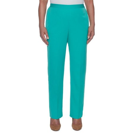 Alfred Dunner Womens Montego Bay Classic Fit Pants