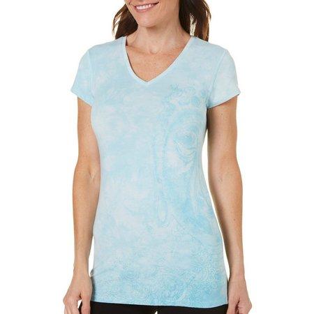 Earth Yoga Womens Big Bhuda Fade T-Shirt