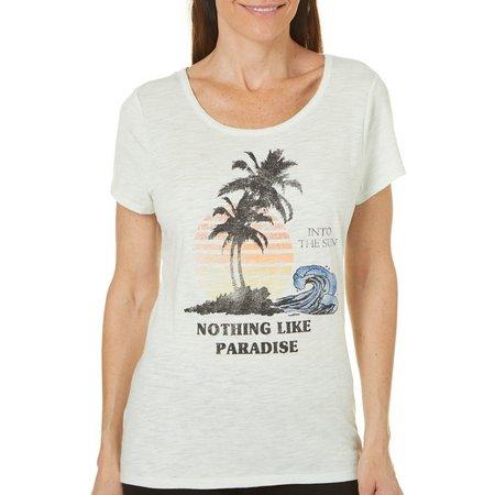 Jamie & Layla Womens Nothing Like Paradise T-Shirt