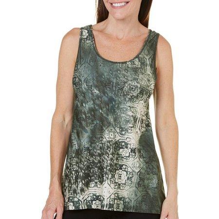 Nanette Lepore Womens Sumatra Printed Tank Top