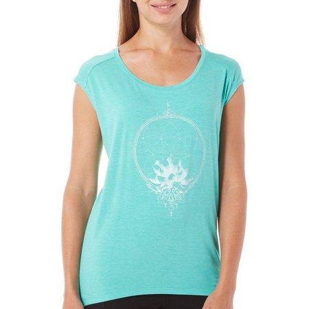 Gaiam Womens Dani Dream Catcher Graphic T-Shirt