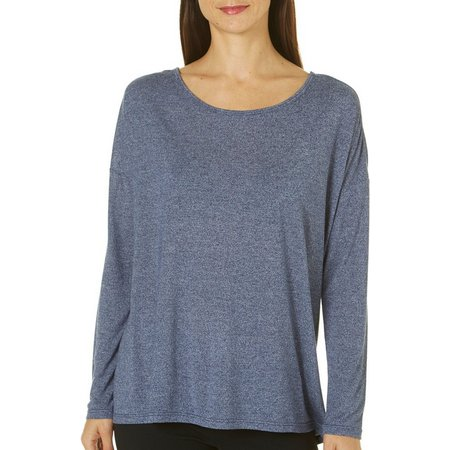 Gaiam Womesn Willa Strappy Open Back Tunic Top